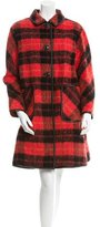 Kate Spade Belted Plaid Coat