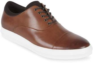 Kenneth Cole Reaction Reem Lace-Up Leather Oxford Sneakers