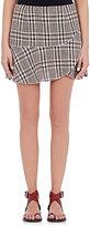 Etoile Isabel Marant Women's Jevil Plaid Linen Miniskirt-NUDE