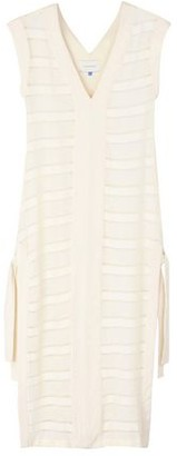 Solid & Striped 3/4 length dress