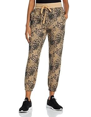 Joie Tempest Animal Print Jogger Pants - 100% Exclusive
