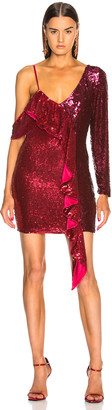 retrofete Wendy Dress in Burgundy & Pink | FWRD