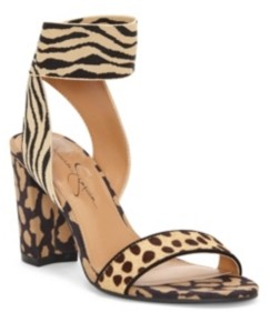 Jessica Simpson Siesto Block Heel Dress Sandals Women's Shoes