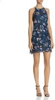 Aqua Floral Lace Sleeveless Dress - 100% Exclusive