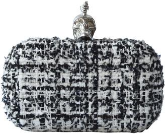 Alexander McQueen Skull White Cloth Clutch bags