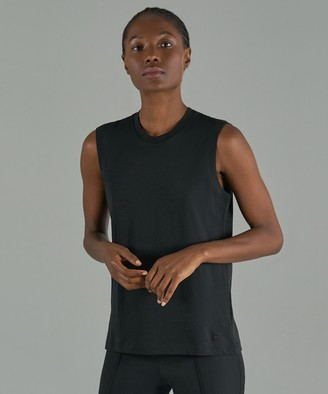 Atm Classic Jersey Sleeveless Boy Tee - Black
