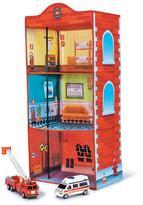 Avon Pop-Up Screen-Printed Firehouse
