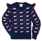 Vineyard Vines Toddler's, Little Girl's & Girl's Whale Cotton Sweater