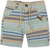 Inmusion Little Boys Flat-Front Plaid Shorts