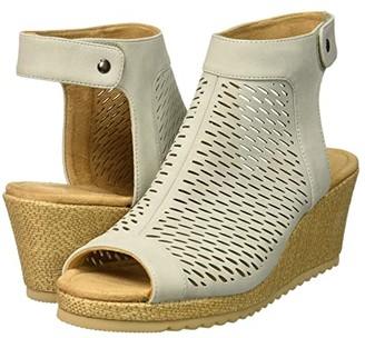 Skechers Monarchs - Blue Nights (Light Grey) Women's Shoes