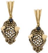 Iosselliani Puro Cheetah earrings