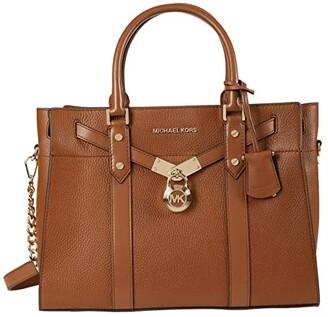 MICHAEL Michael Kors Nouveau Hamilton Large Satchel (Luggage) Satchel Handbags