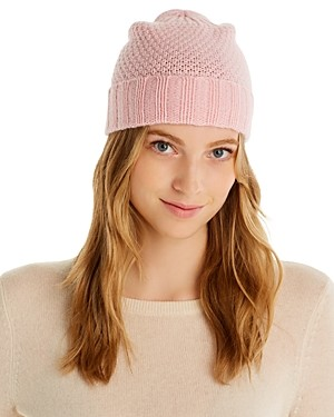 Bloomingdale's C by Waffle Knit Cashmere Hat - 100% Exclusive
