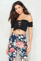 Nasty Gal nastygal Lettuce Talk About This Crop Top