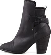 Rag and Bone Rag & Bone Kinsey Leather Ankle Boot, Black
