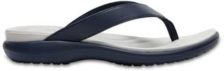 Crocs Capri V Leather Flip Flops