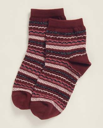 Missoni Burgundy Multi-Stripe Socks