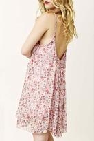Blu Moon U-Back Baby Doll Dress in Little Pink Floral