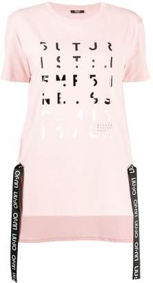 Liu Jo printed maxi T-shirt
