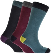 Ted Baker Alpton 3 Pack Socks