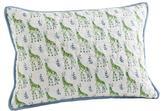 Rikshaw Organic Giraffe Blue Boudoir Pillow