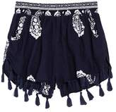 Vintage Havana Girls' Tassle Shorts - Big Kid