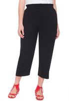 ELOQUII Plus Size Soft Cropped Pant