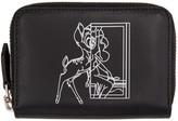 Givenchy Black Mini Bambi Zip Wallet
