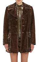 Marc Jacobs Women's Velvet Three-Button Coat