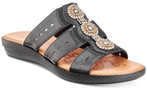 Easy Street Shoes Nori Slide Sandals Women's Shoes