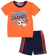 "Tuff Guys Little Boys' ""Champ Athlete"" 2-Piece Pajamas"