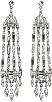 Ben-Amun Multi-Strand Crystal Drop Earrings