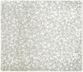 Modern Twist Silicone Placemat, Twine, Silver - Silver