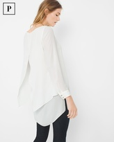 White House Black Market Layered Tunic