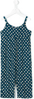 Nice Things Blurred Dots overall - kids - Rayon/Viscose - 4 yrs