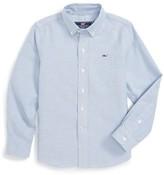 Vineyard Vines Toddler Boy's Woven Oxford Shirt