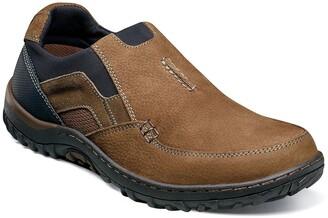 Nunn Bush Quest Moc Toe Slip-On Shoe