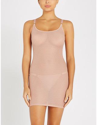 Myla Honey Lane stretch-mesh slip dress