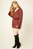 Forever 21 FOREVER 21+ Plus Size Faux Suede Romper