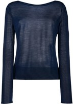 Roberto Collina Side Slit Jumper