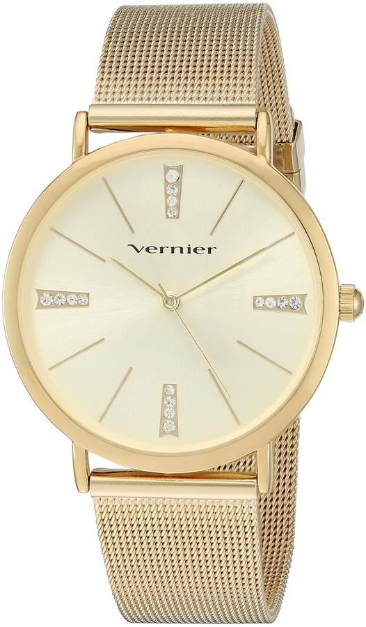 Vernier Women's VNR11200YG Analog Display Japanese Quartz Gold Watch