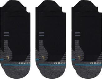 Stance 3-Pack Run Light No-Show Socks
