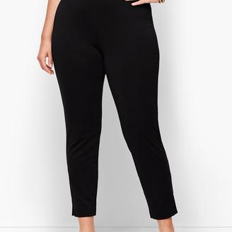 Talbots Knit Jersey Faux Pleat Pants
