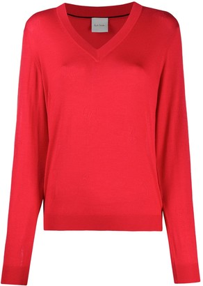 Paul Smith Perforated-Number Sweater