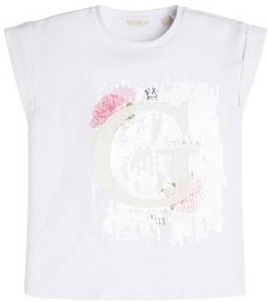 GUESS Big Girls Embellished Logo T-Shirt
