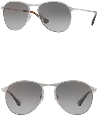 Persol 56mm Modified Aviator Sunglasses