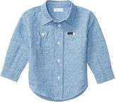 Ralph Lauren Boy Linen-Cotton Workshirt