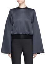 Ellery 'Immortal' flared sleeve cropped sweatshirt
