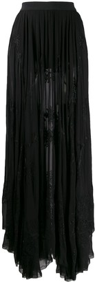 Diesel Embroidered Pleated Skirt
