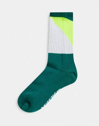 Asics Gel-lyte3 socks in mantle green